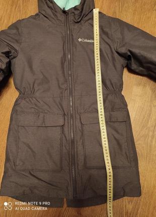 Зимняя парка куртка columbia omni-heat, на 9-11 лет