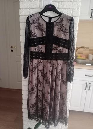 Платье двойной эффект