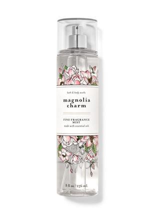 Парфюмированный спрей для тела magnolia charm от bath and body works