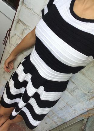 Супер платье в полоску