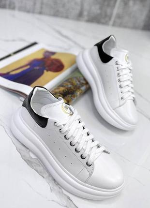 Натуральная кожа/замша, модные стильные женские кроссовки
