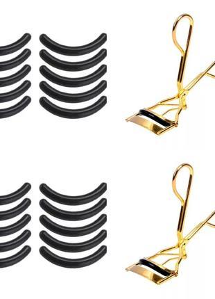 Щипцы для завивки ресниц бигуди инструмент кёрлер плойка для ресниц