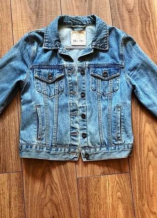Джинсовый пиджак pull&bear