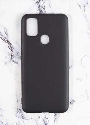 Силиконовый чехол для zte blade a7s 2020 черный и полупрозрачный