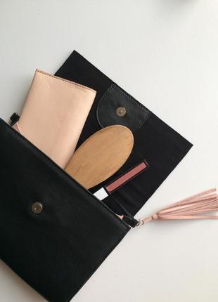 Кожаная женская сумка ,супер универсальная сумка на цепочке,сумка - бананка .ручная работа