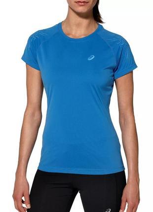 14-16 новая легкая дышащая спортивная футболка для бега, фитнеса asics performance