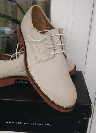 Clarks bostonian. мужские туфли.