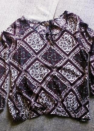 Блуза насыщенный вишневый цвет