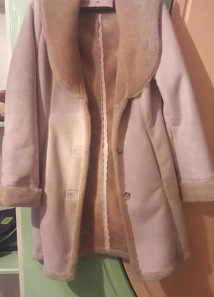 Пальто-дублянка calvin klein