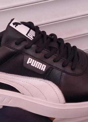 Натуральная кожа весенние кроссовки puma новинка весны 2021