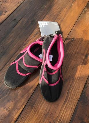Обувь для пляжа и кораллов pepperts рожеві аквашузы