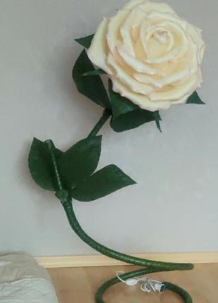 Светильник торшер-роза