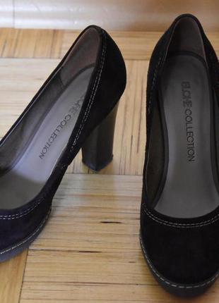 Туфли замшевые elche