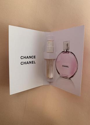 Chanel chance eau tendre пробник