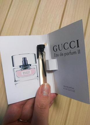 Духи парфюм пробник gucci eau de parfum 2 от gucci ☕ объём 5мл