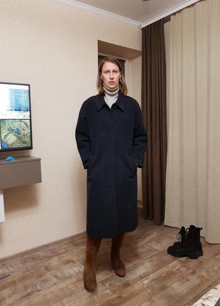 Пальто демисезонное прямого кроя
