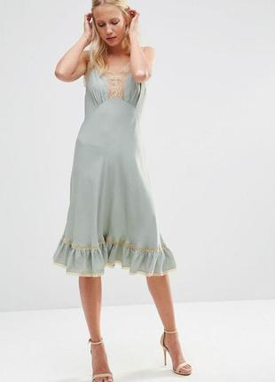 Платье в бельевом стиле asos premium весна-лето 2016