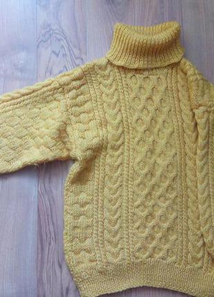 Свитер ,кофта,пуловер,вязание тепло підходити розмір-104-110-116