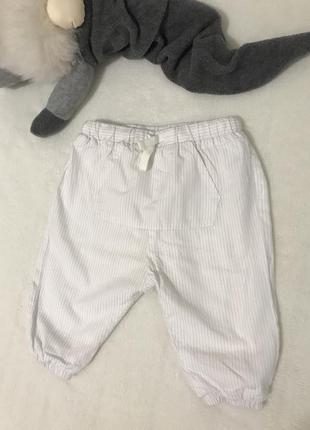 Штаны/ штанишки в полоску / zara mini