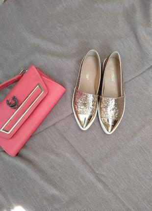 Слипоны, лоферы, туфли