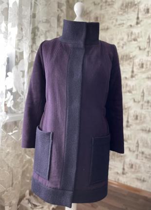Пальто шерстяное с утеплителем