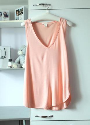 Розово-персиковая блузочка от h&m