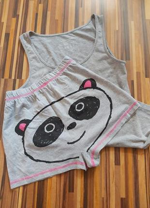 Пижама/комплект/майка и шорты/одежда для сна и дома