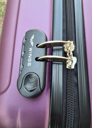 Маленький чемодан ручная кладь  wings xs poland.9 фото