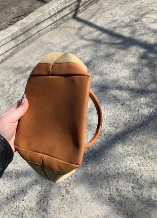 Винтажная сумочка barbour mini tote3 фото