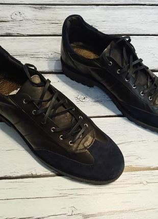 Туфлі броги замшеві шкіряні туфли замшевые кожаные италия итальянские