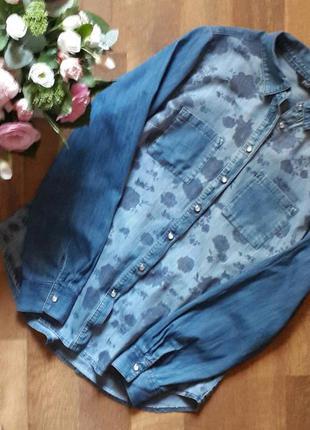 Большой выбор стильных вещей. джинсовая рубашка