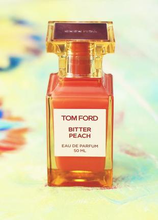 Tom ford bitter peach оригинал_eau de parfum 5 мл затест_парфюм.вода