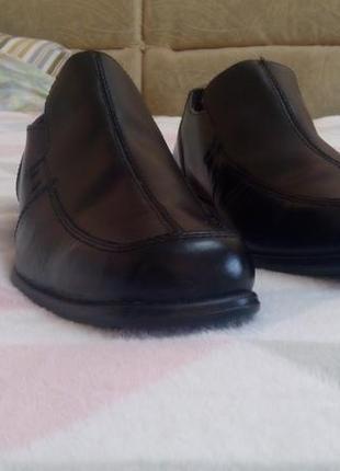 Кожаные демисезоные туфли george, размер 42