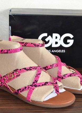 Стильные босоножки, сандалии guess gbg camrin, 40-41 размер, 26,5 см, новые