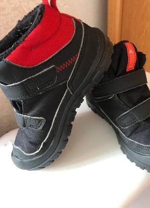 Фирменные ботинки quechua decathlon р. 24 (по стельке 15,5 см).