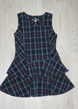 Школьное платье, сарафан в клетку , вещи в наличии💚+скидки, заходите💚