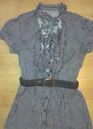 Стильная блузка стрейч