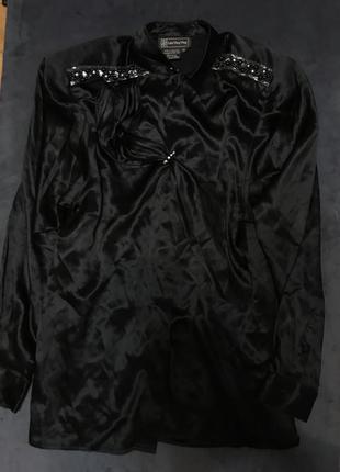 Винтажная шелковая блуза эксклюзив ,распродаю все ,торг!