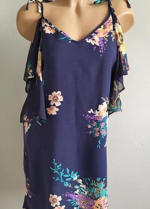 Платье, сарафан с открытыми плечами, 100% вискоза