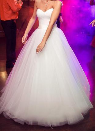 Свадебное платье невенчанное
