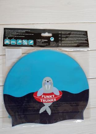 Шапочка для бассейна funky trunks