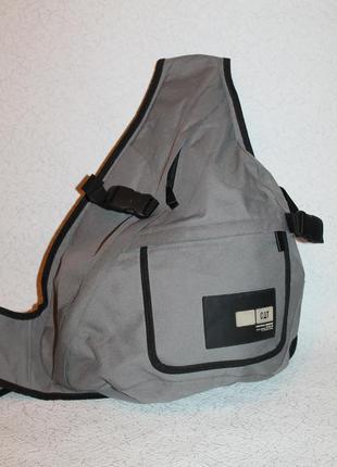 Прочный фирменный рюкзак caterpillar моношлейка