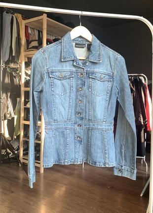 Donna karan dkny джинсовая куртка