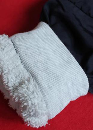 Спортивные штанишки на махре малышке 1-2 года.5