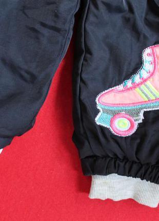 Спортивные штанишки на махре малышке 1-2 года.3