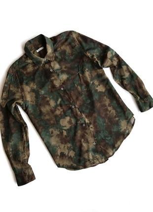 Хлопковая рубашка 6397