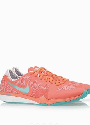 Nike кроссовки dual fusion tr 3 print