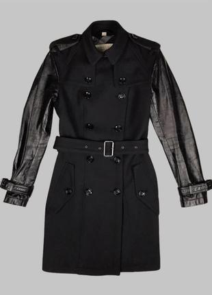 Оригинал шерстяное пальто burberry