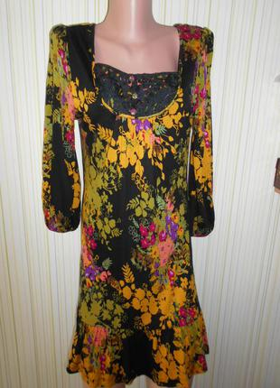 #платье из вискозы 100% #next#трикотажное платье #турция #