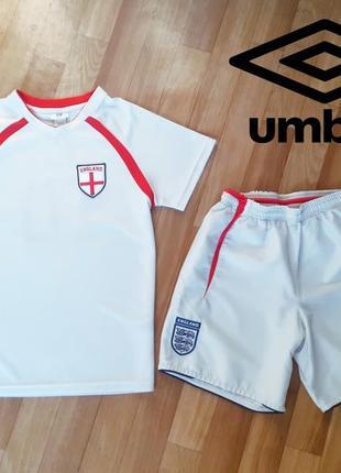 Футбольная форма, футболка, шорты umbro, h&m 10-12лет